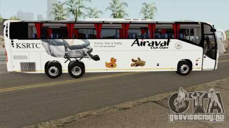Volvo KSRTC AIRAVAT для GTA San Andreas