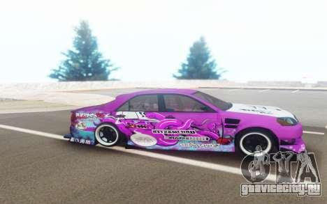 Toyota Mark 2 JZX110 Octo DriftMaster для GTA San Andreas