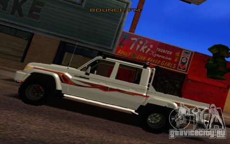 Ленд Крузер 79 Забрать В1.0 для GTA San Andreas