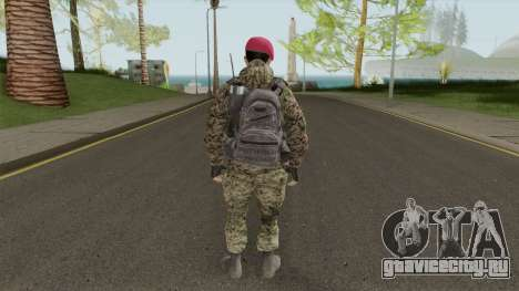 Turkish Army Skin для GTA San Andreas