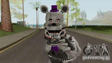 FNaF Fred Bear Grey v7 для GTA San Andreas