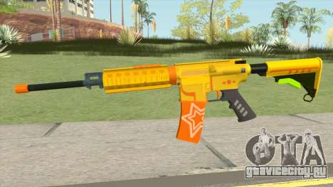 M4A1 Pew Pew Pew для GTA San Andreas