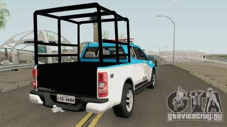 Chevrolet S10 PMERJ Com GAIOLA для GTA San Andreas