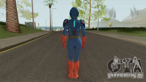 Skin CWs Armored Supergirl from Injustice 2 для GTA San Andreas