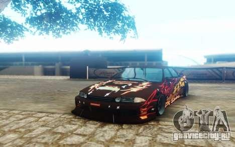 Nissan Skyline ER32 BN Sports для GTA San Andreas