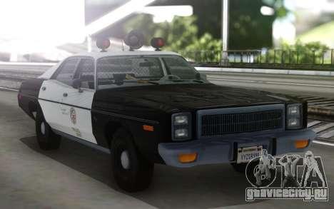 1978 Plymouth Fury Los Angeles Police Departamen для GTA San Andreas