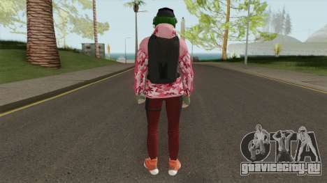 R6S Ela with Christmas Outfit (GTA Online MP) для GTA San Andreas