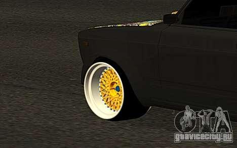 ВАЗ 2107 DR1FT Семера для GTA San Andreas