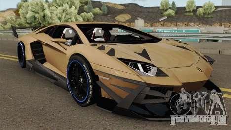 Lamborghini Aventador TZR R-Tech v1 для GTA San Andreas