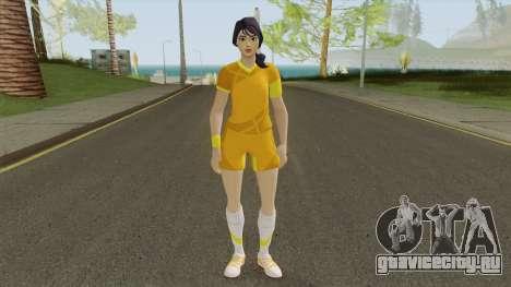 Sara (Fortnite Soccer) для GTA San Andreas