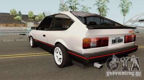 Chevrolet Monza SR Hacth Doors для GTA San Andreas