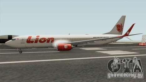 Boeing 737NG Lion Air для GTA San Andreas