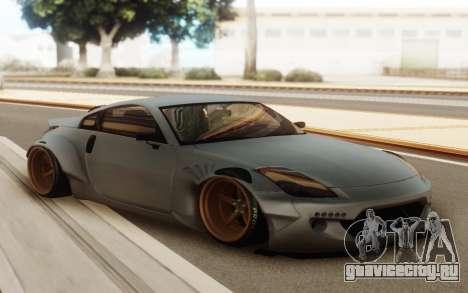 Nissan 350z Rocket Bunny для GTA San Andreas