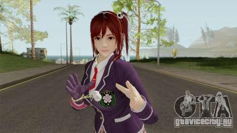 Japanese Schol Girl для GTA San Andreas