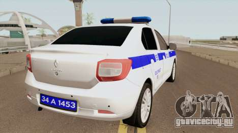 Renault Logan Turk Polis Arabası для GTA San Andreas