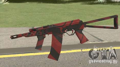 SAIGA-12 RED BLOOD для GTA San Andreas