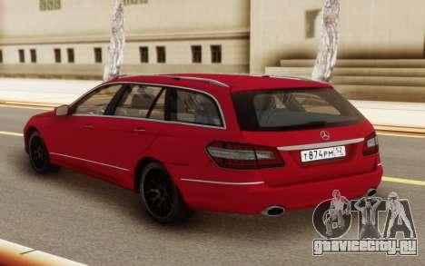 Mercedes-Benz E-Class Universal для GTA San Andreas