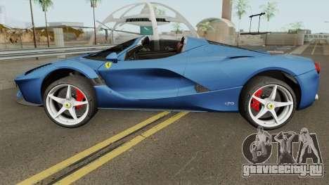 Ferrari LaFerrari Aperta 2017 для GTA San Andreas