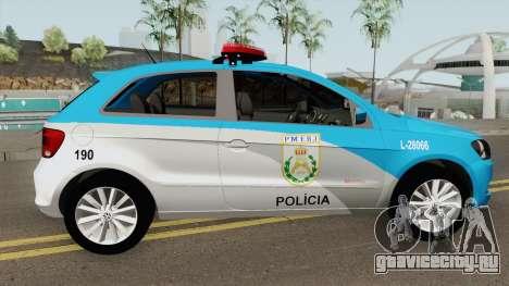 Volkswagen Gol G6 PMERJ для GTA San Andreas