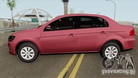 Volkswagen Voyage G6 Trend 2014 для GTA San Andreas
