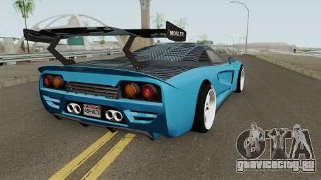 Airborne Mosler Super GT (Tyrus Style) Asphalt 8 для GTA San Andreas