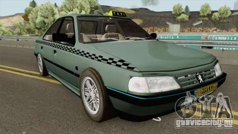 Peugeot 405 GLX TAXI NEW для GTA San Andreas