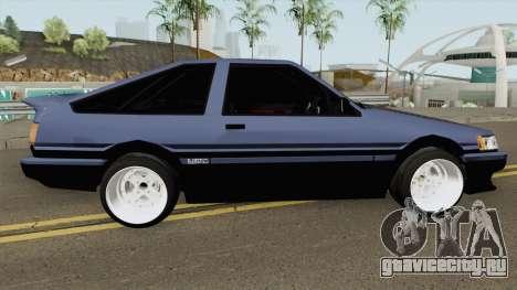 Toyota Levin AE86 Turbo V1 для GTA San Andreas