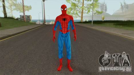 Marvel Spider-Man Classic Suit для GTA San Andreas