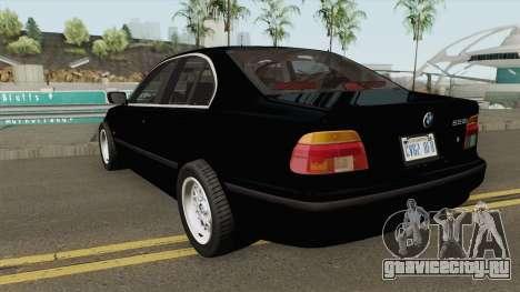 FIB BMW 5-Series e39 525i 1999 (US-Spec) для GTA San Andreas