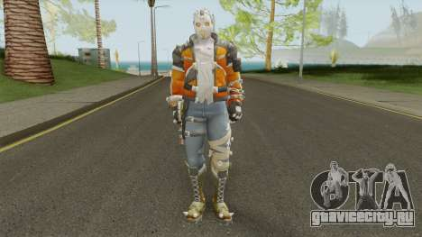 Slasher 76 From Overwatch для GTA San Andreas