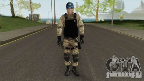 Skin Da Policia Rodoviaria Federal для GTA San Andreas