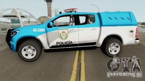 Chevrolet S10 PMERJ для GTA San Andreas