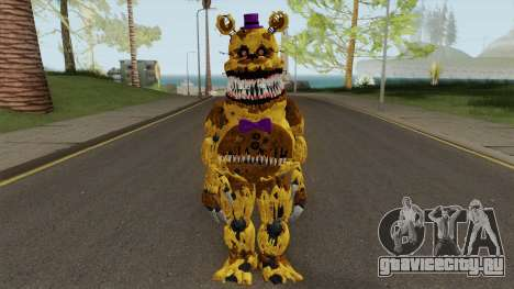 Nightmare Fred Bear V7 для GTA San Andreas
