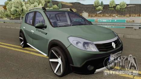 Renault Sandero StepWay для GTA San Andreas