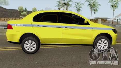Volkswagen Voyage G6 Taxi RJ Laranjeiras для GTA San Andreas