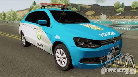 Volkswagen Voyage G6 PMERJ для GTA San Andreas