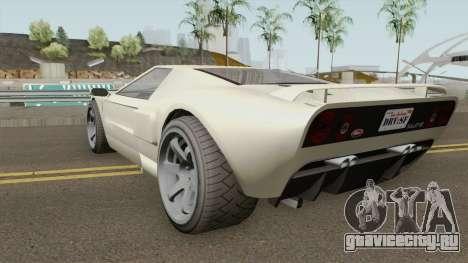 Vapid Bullet GT GTA V для GTA San Andreas