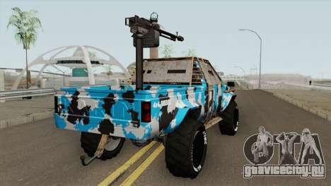 Technical Gunrunning GTA V для GTA San Andreas