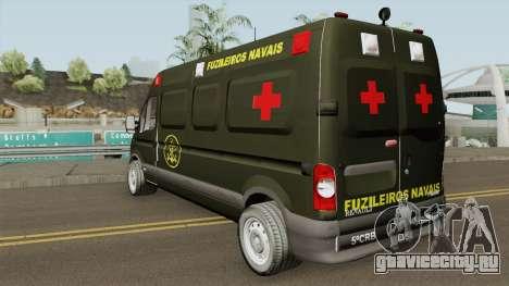 Renault Master Ambulance Dos Fuzileiros Navais для GTA San Andreas