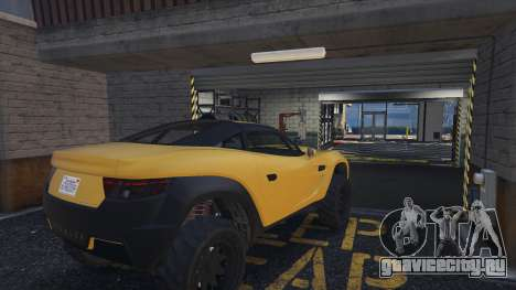 SELL CARS at Simeon Premium Deluxe Motorsport для GTA 5