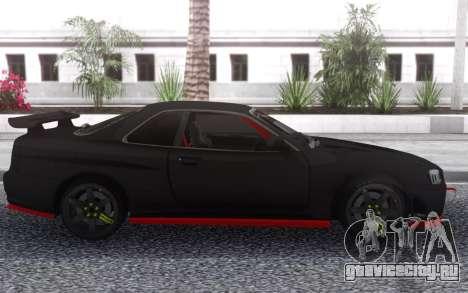 Nissan Skyline R34 Drift для GTA San Andreas