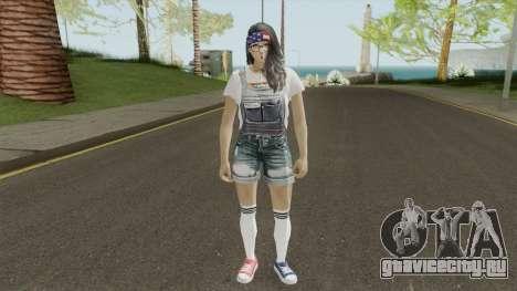 MP Teen Girl для GTA San Andreas