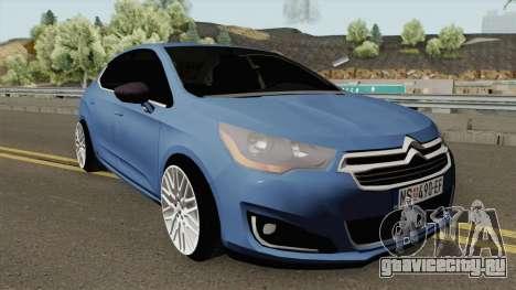 Citroen C4 Lounge Sport для GTA San Andreas