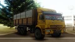 КамАЗ 43118 Бортовой с прицепом