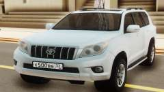 Toyota Land Cruiser Prado White для GTA San Andreas
