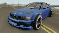 BMW M3 E46 GTR Most Wanted (2012 Style) V1 2001