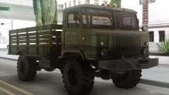 ГАЗ 66 с кузовом и тендом