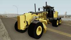 Caterpillar 140M3 Motor Grader для GTA San Andreas