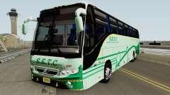 SETC Multi Axle Volvo Ac Coach