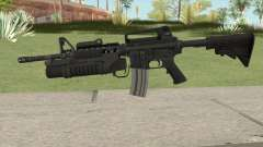 M4 With M203 для GTA San Andreas